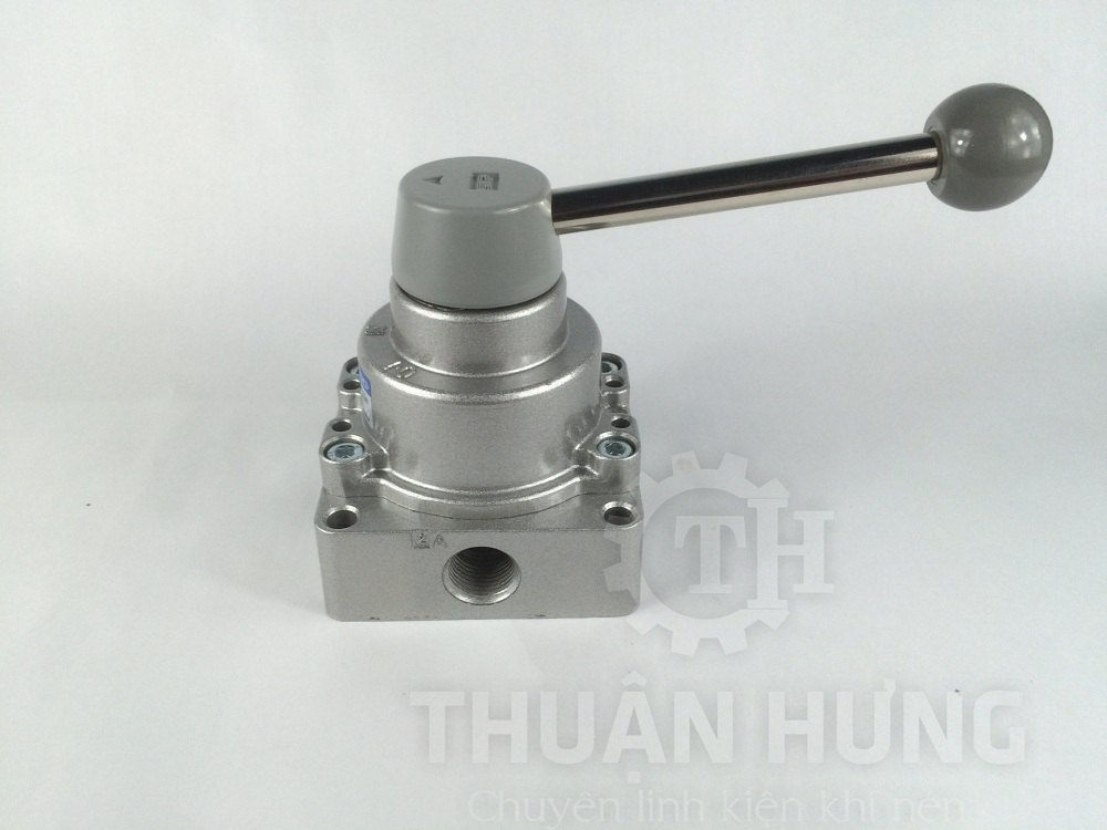 Cổng A của van gạt tay khí nén SKP SHV300-03