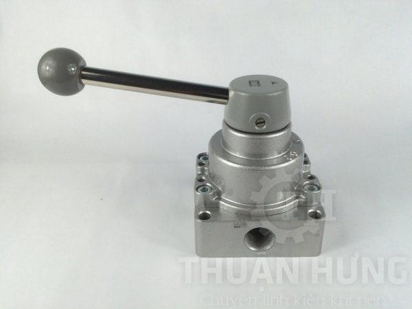 Cổng B của van gạt tay khí nén SKP SHV300-03