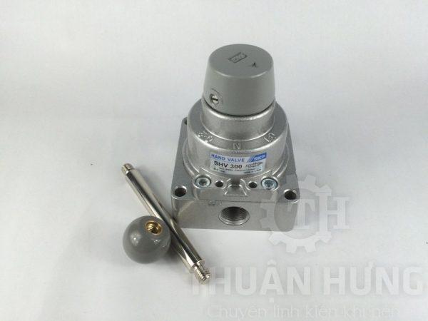 Van gạt tay khí nén SKP SHV300-03 và phụ kiện