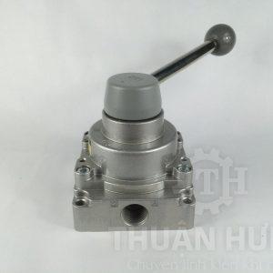 Cổng A của van gạt tay khí nén SKP SHV400-04