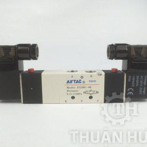 Mặt trước của van điện từ AIRTAC 4V230C-08