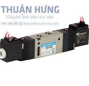 Van điện từ khí nén 5/2 KCC KS105D