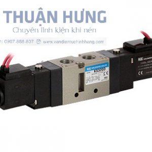 Van điện từ khí nén 5/3 KCC KS320H