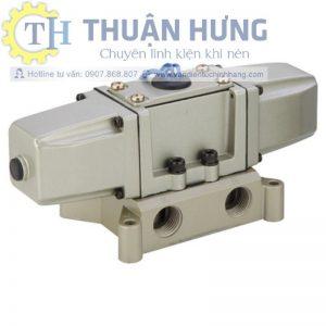 Van điện từ khí nén 5/2 KCC KS4230