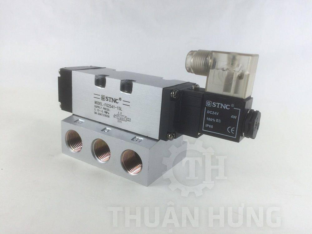 Đầu điện của van điện từ khí nén STNC FG2541-15L