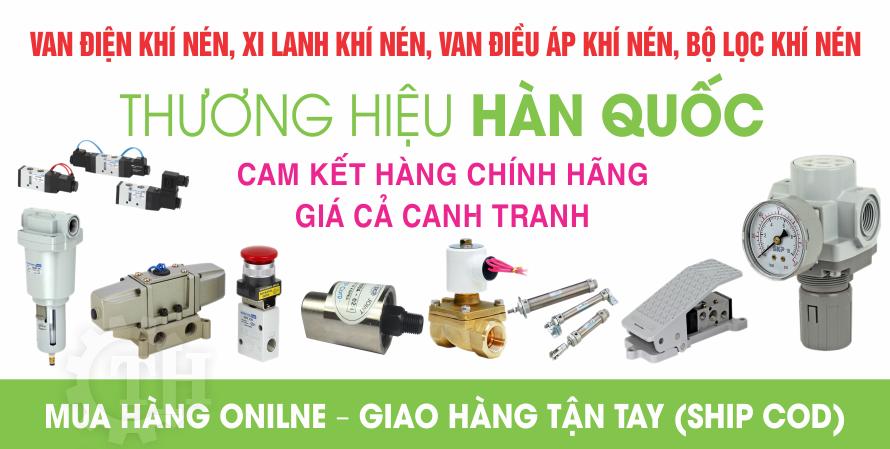 Khí nén Thuận Hưng chuyên cung cấp van điện từ khí nén Hàn Quốc chính hãng